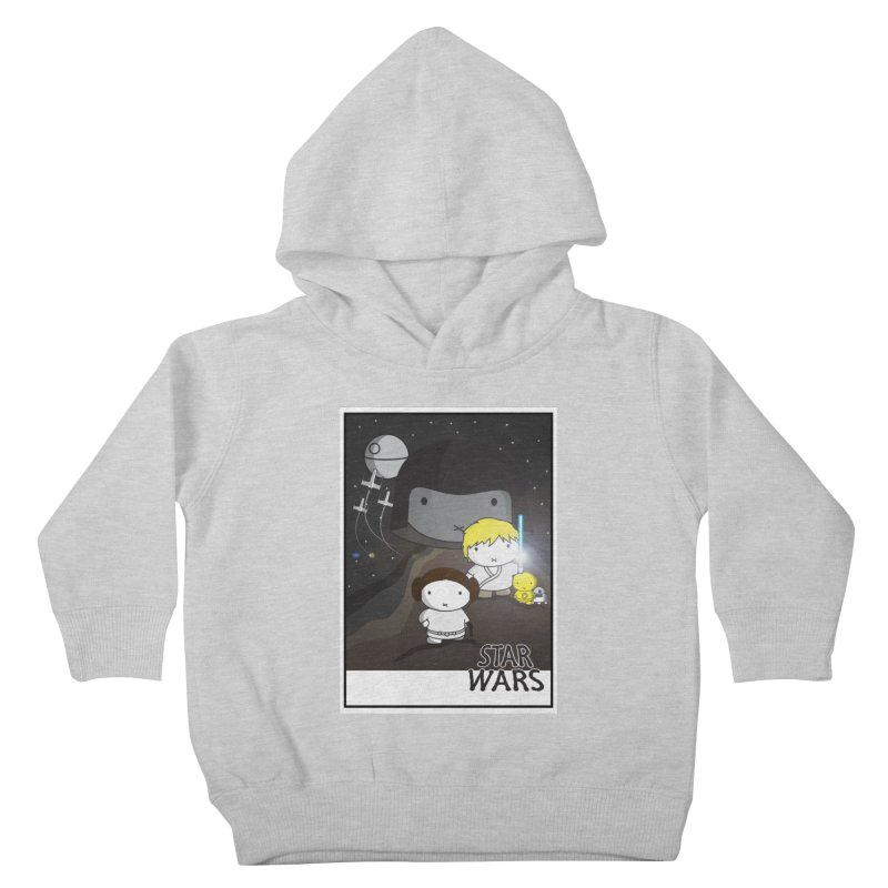 Mini Wars Ep IV Kids Toddler Pullover Hoody by nrdshirt's Shop