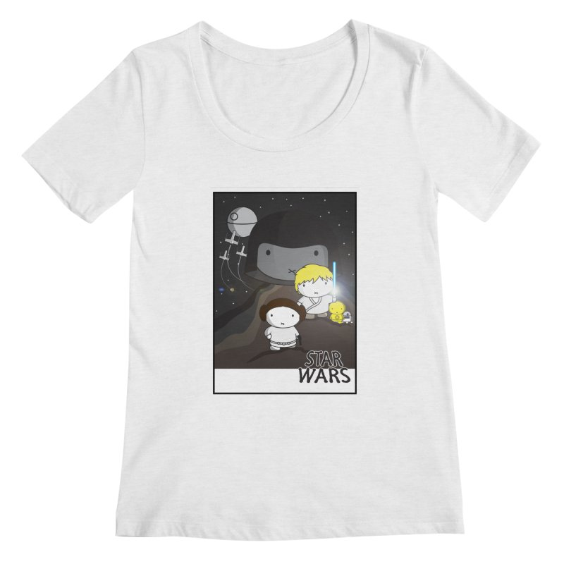 Mini Wars Ep IV Women's Regular Scoop Neck by nrdshirt's Shop