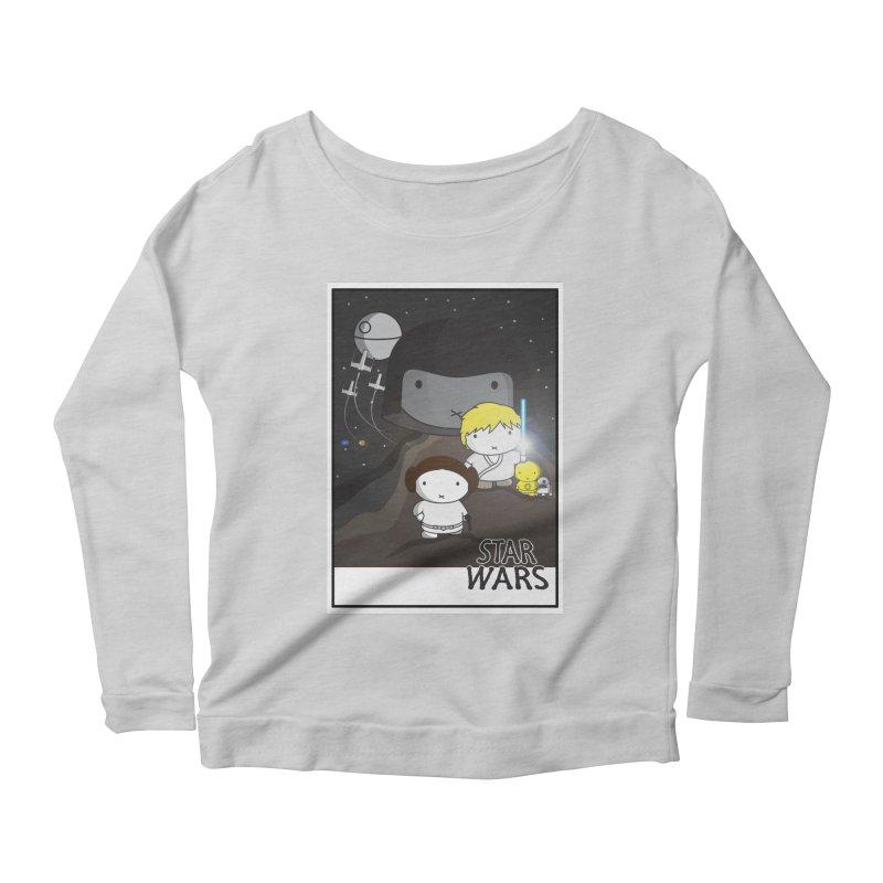 Mini Wars Ep IV Women's Scoop Neck Longsleeve T-Shirt by nrdshirt's Shop
