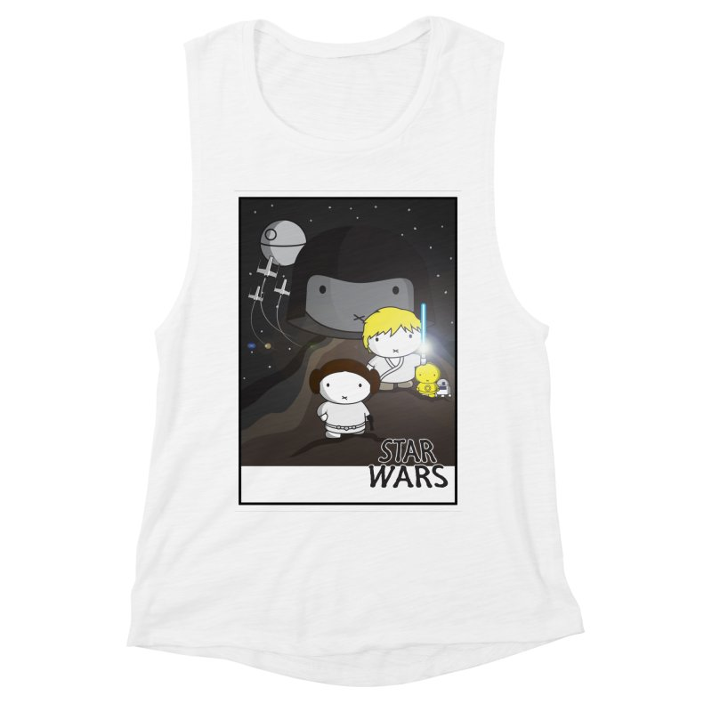 Mini Wars Ep IV Women's Muscle Tank by nrdshirt's Shop