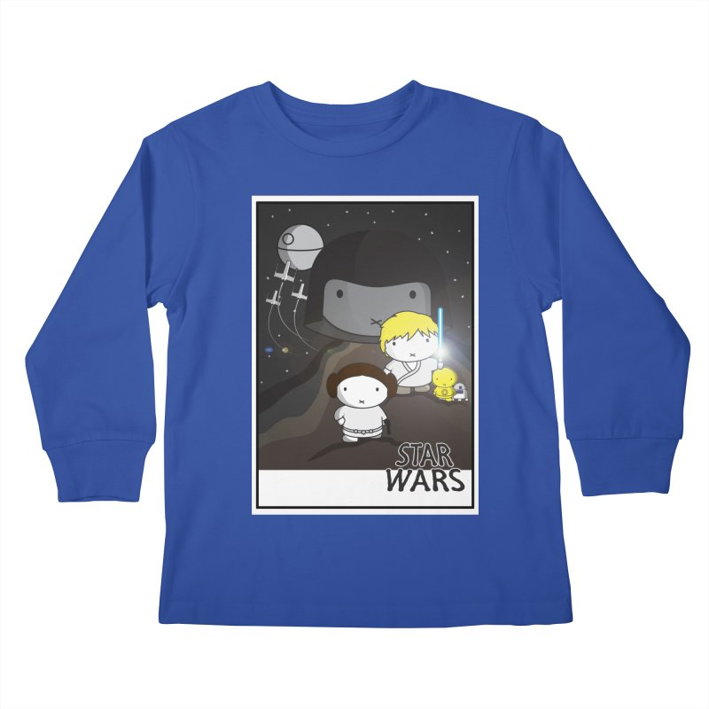 Mini Wars Ep IV Kids Longsleeve T-Shirt by nrdshirt's Shop