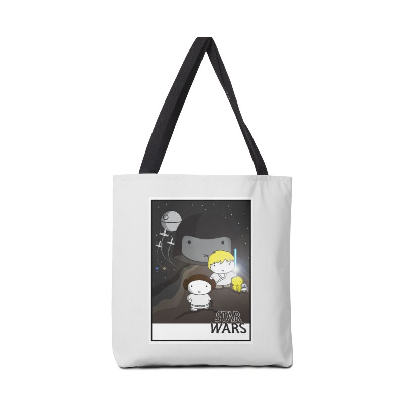Mini Wars Ep IV Accessories Tote Bag Bag by nrdshirt's Shop