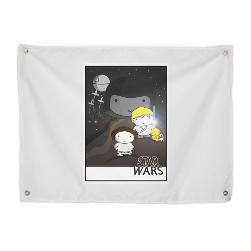 Mini Wars Ep IV Home Tapestry by nrdshirt's Shop