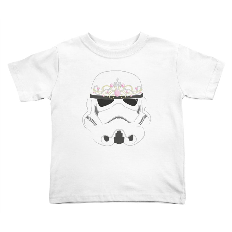 Sparkly ANH Trooper Kids Toddler T-Shirt by nrdshirt's Shop