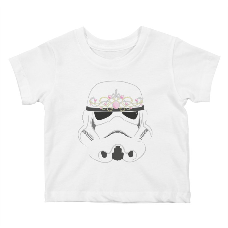 Sparkly ANH Trooper Kids Baby T-Shirt by nrdshirt's Shop