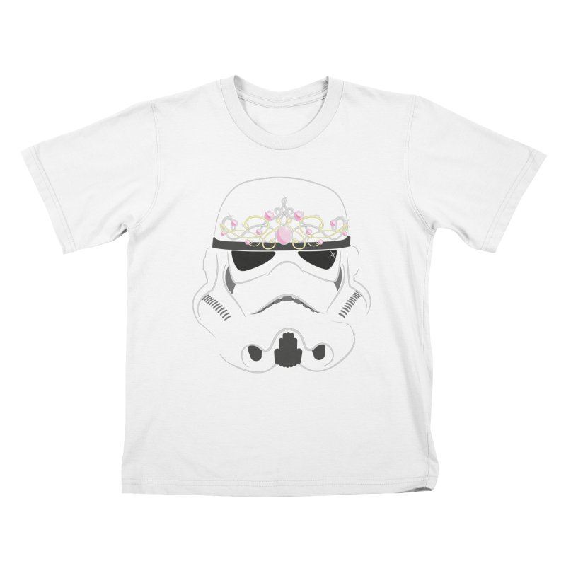 Sparkly ANH Trooper Kids T-shirt by nrdshirt's Shop