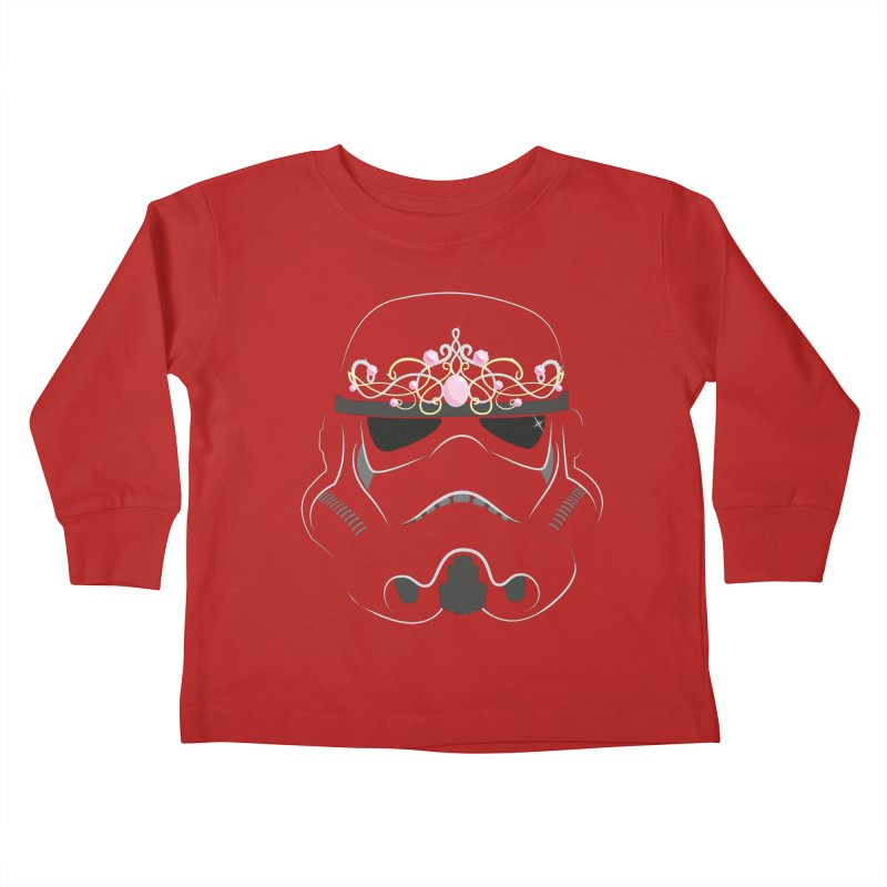 Sparkly ANH Trooper Kids Toddler Longsleeve T-Shirt by nrdshirt's Shop