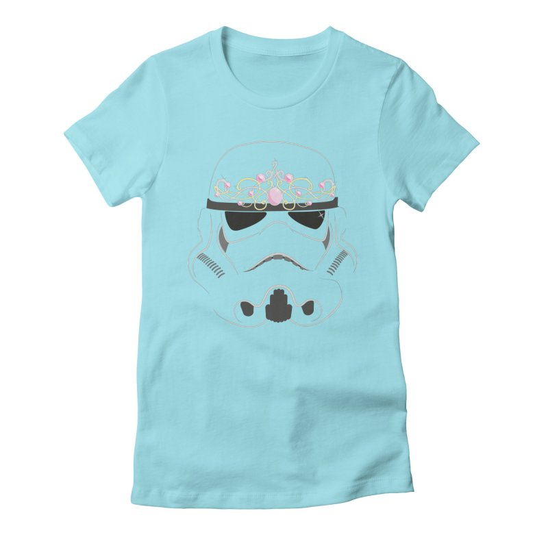 Sparkly ANH Trooper Women's Fitted T-Shirt by nrdshirt's Shop