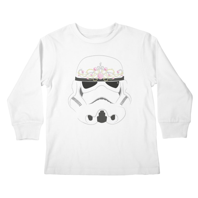 Sparkly ANH Trooper Kids Longsleeve T-Shirt by nrdshirt's Shop