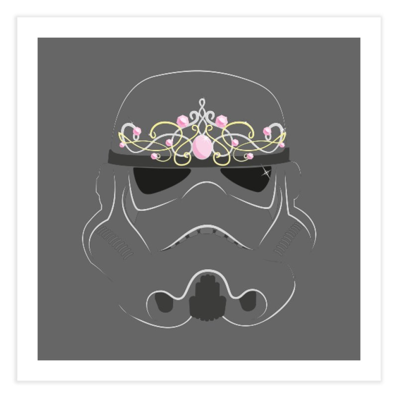 Sparkly ANH Trooper Home Fine Art Print by nrdshirt's Shop