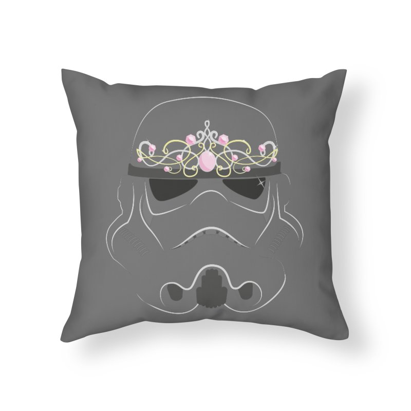 Sparkly ANH Trooper Home Throw Pillow by nrdshirt's Shop