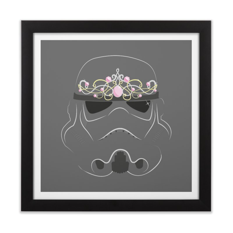 Sparkly ANH Trooper Home Framed Fine Art Print by nrdshirt's Shop