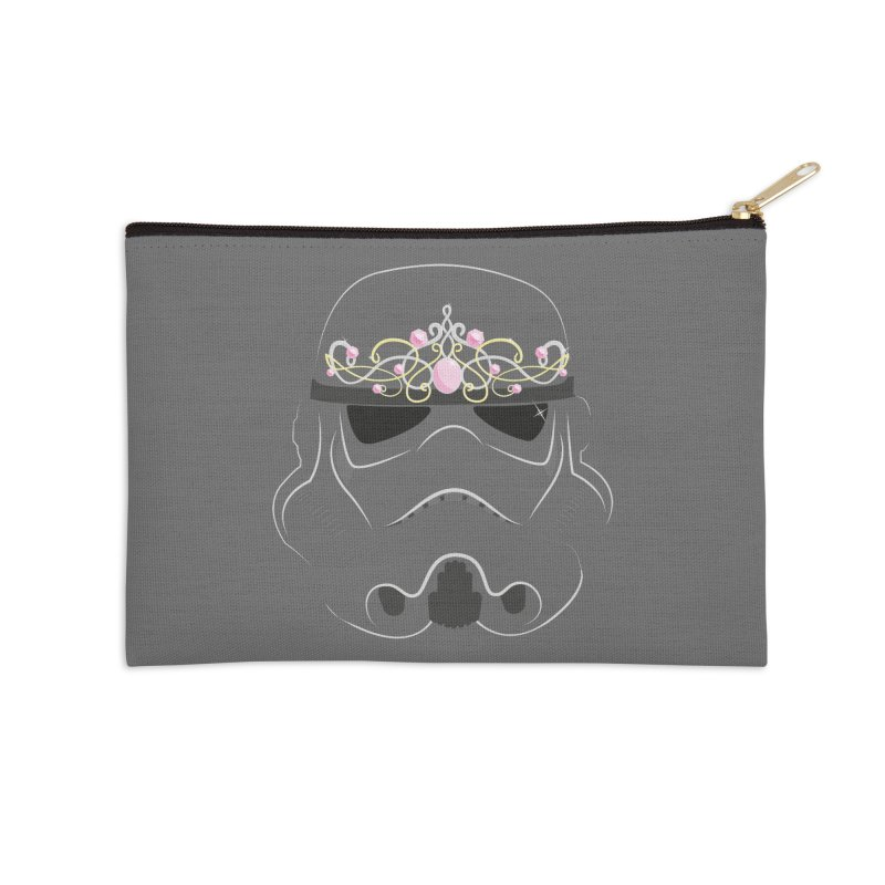 Sparkly ANH Trooper Accessories Zip Pouch by nrdshirt's Shop