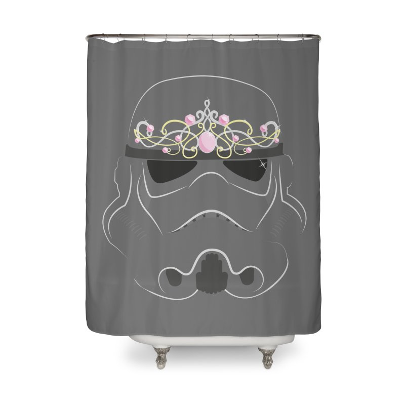 Sparkly ANH Trooper Home Shower Curtain by nrdshirt's Shop