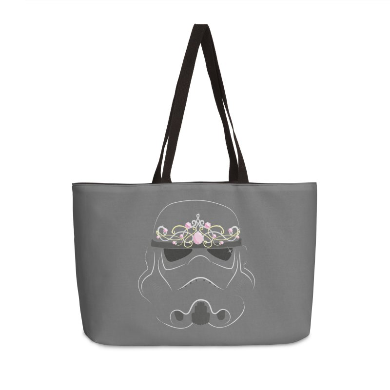 Sparkly ANH Trooper Accessories Weekender Bag Bag by nrdshirt's Shop