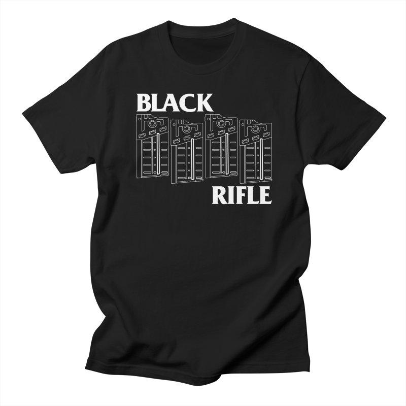 Black Rifle Men's T-shirt by nshanemartin's Artist Shop