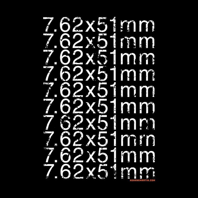 7.62x51mm Men's T-Shirt by N. Shane Martin