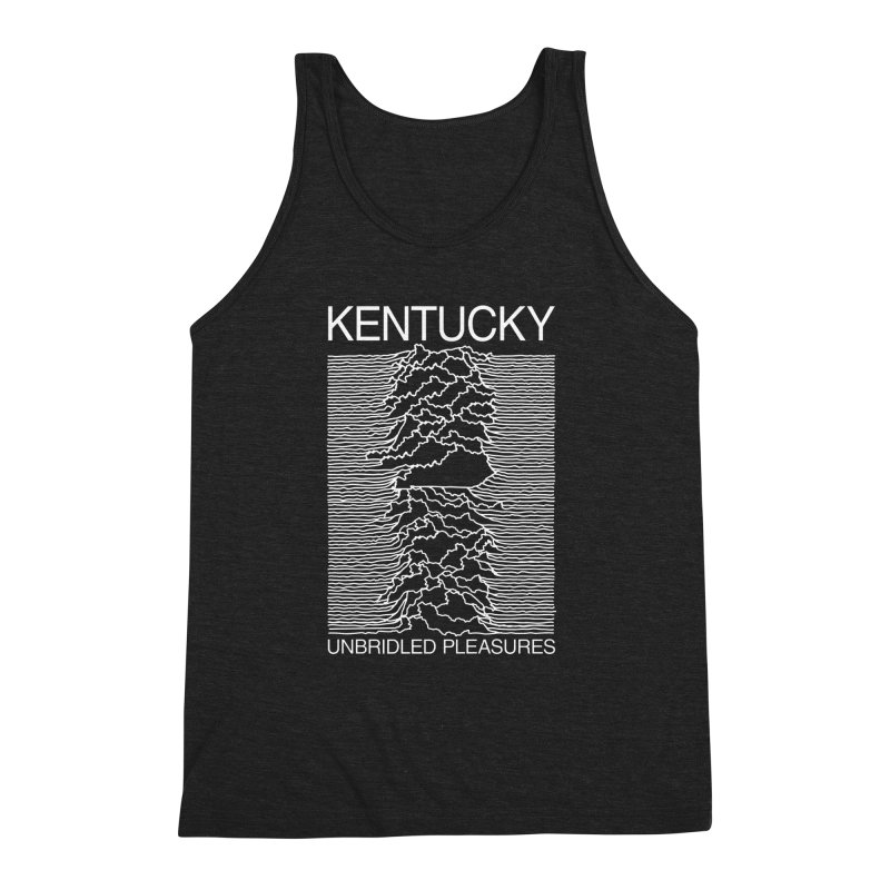 Unbridled Pleasures Men's Triblend Tank by nshanemartin's Artist Shop