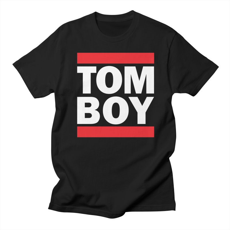 TOM-BOY Women's Unisex T-Shirt by nshanemartin's Artist Shop