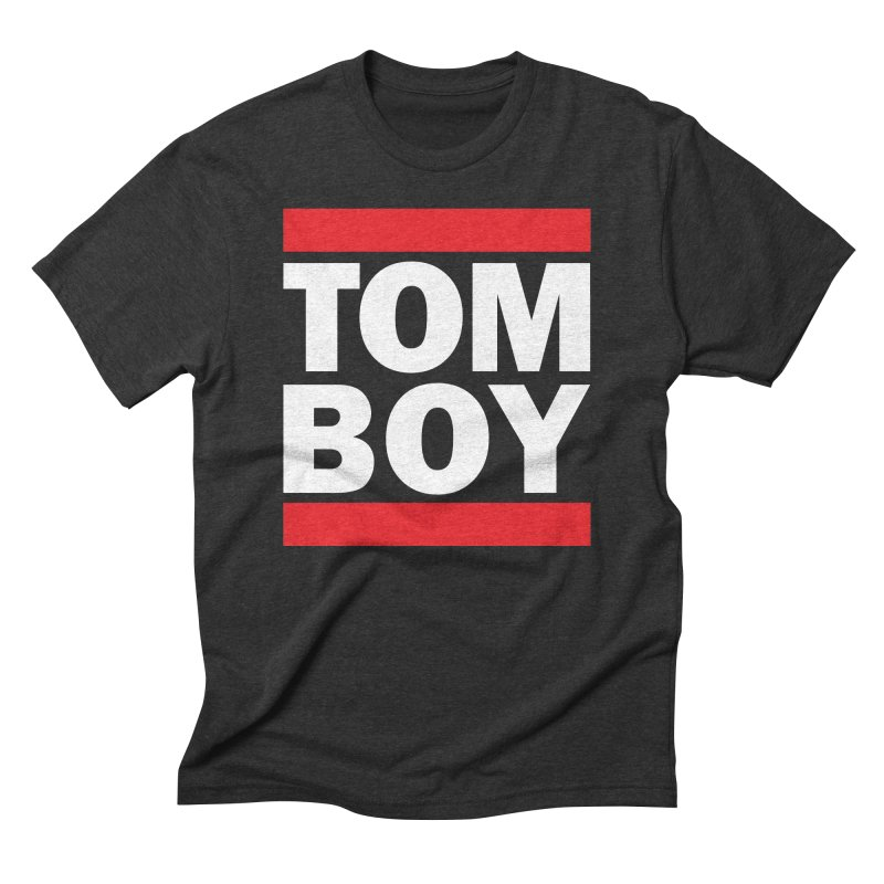 TOM-BOY Men's Triblend T-Shirt by nshanemartin's Artist Shop