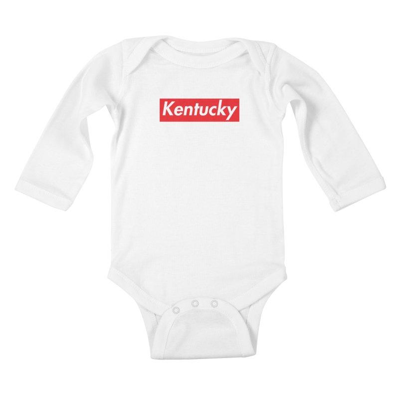 Supremely Kentucky Kids Baby Longsleeve Bodysuit by nshanemartin's Artist Shop