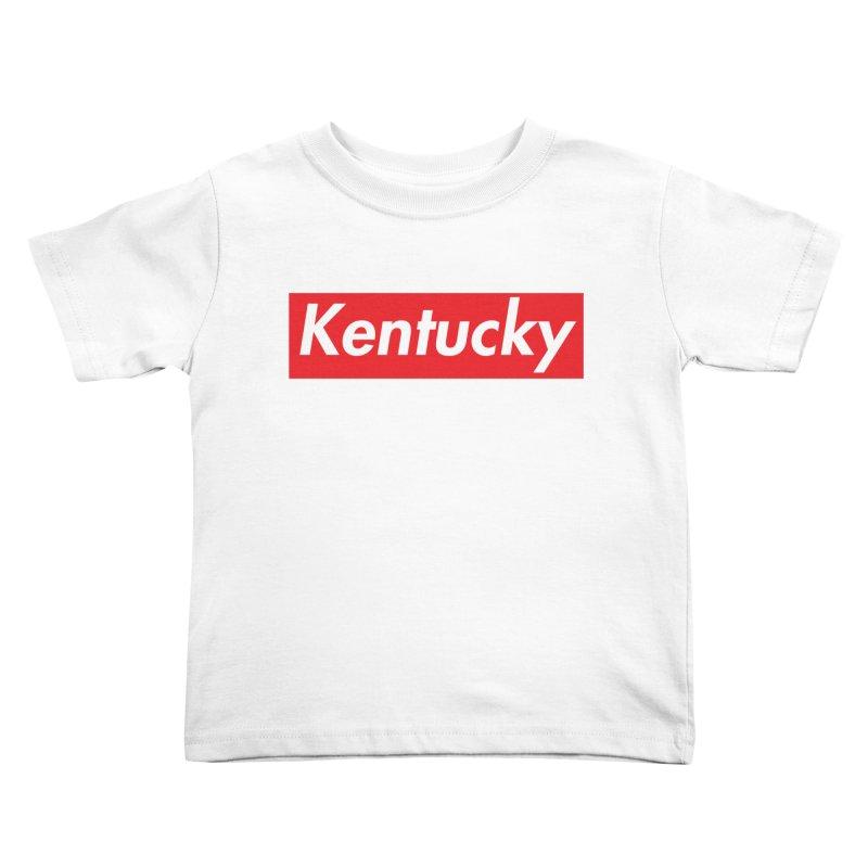 Supremely Kentucky Kids Toddler T-Shirt by nshanemartin's Artist Shop