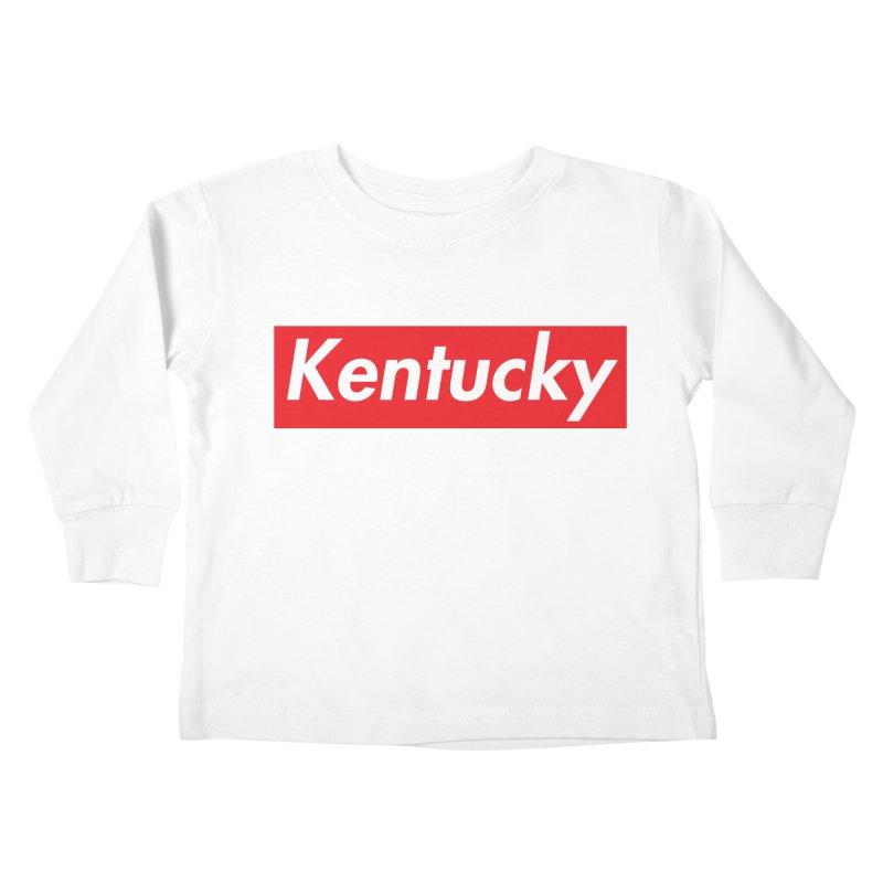 Supremely Kentucky Kids Toddler Longsleeve T-Shirt by nshanemartin's Artist Shop