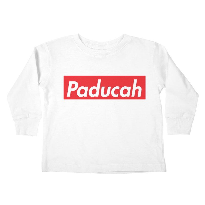 Supremely Paducah Kids Toddler Longsleeve T-Shirt by nshanemartin's Artist Shop
