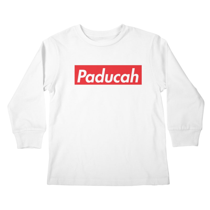 Supremely Paducah Kids Longsleeve T-Shirt by nshanemartin's Artist Shop