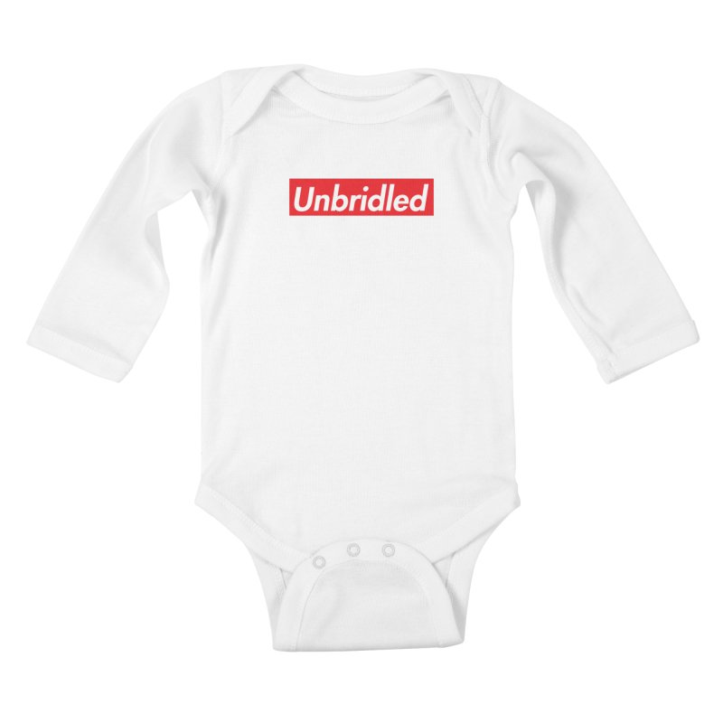 Supremely Unbridled Kids Baby Longsleeve Bodysuit by nshanemartin's Artist Shop