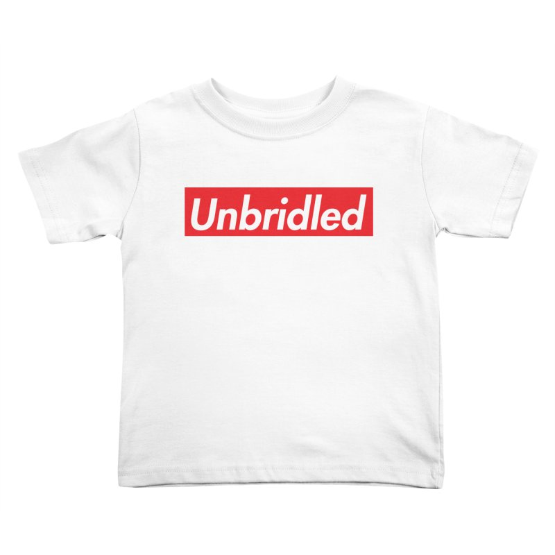 Supremely Unbridled Kids Toddler T-Shirt by nshanemartin's Artist Shop