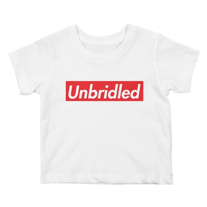 Supremely Unbridled Kids Baby T-Shirt by nshanemartin's Artist Shop