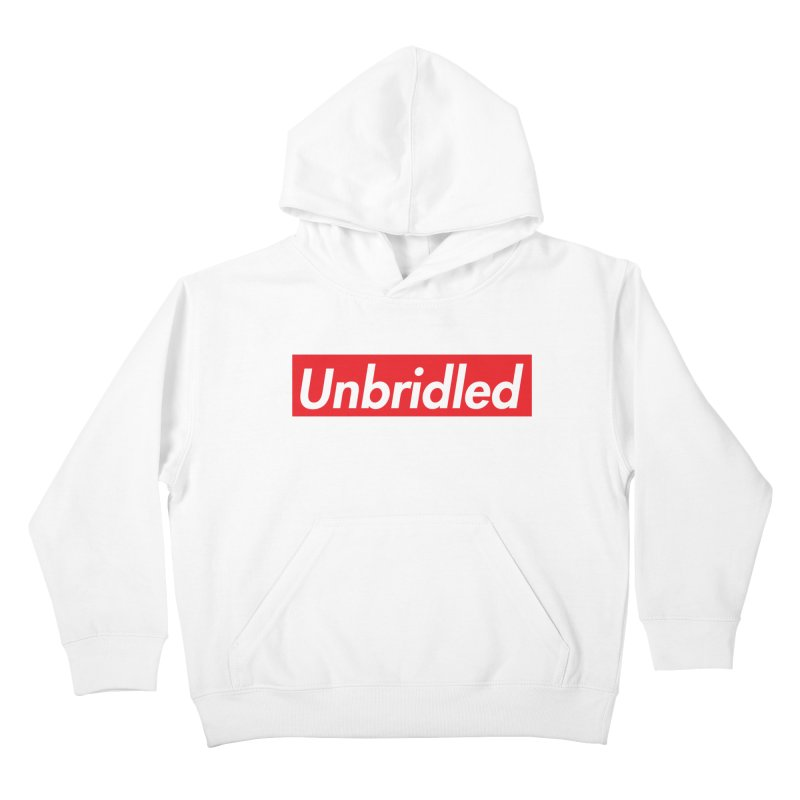 Supremely Unbridled Kids Pullover Hoody by nshanemartin's Artist Shop