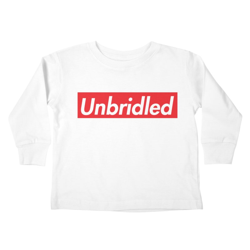 Supremely Unbridled Kids Toddler Longsleeve T-Shirt by nshanemartin's Artist Shop