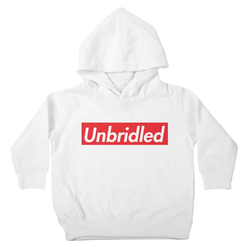 Supremely Unbridled Kids Toddler Pullover Hoody by nshanemartin's Artist Shop