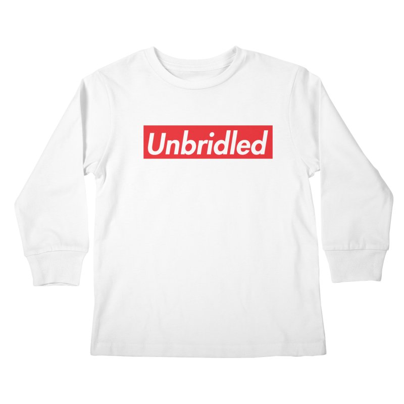 Supremely Unbridled Kids Longsleeve T-Shirt by nshanemartin's Artist Shop