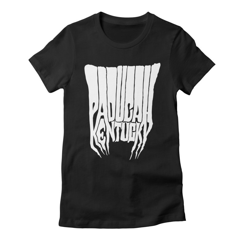 Paducah Wizard Women's Fitted T-Shirt by nshanemartin's Artist Shop