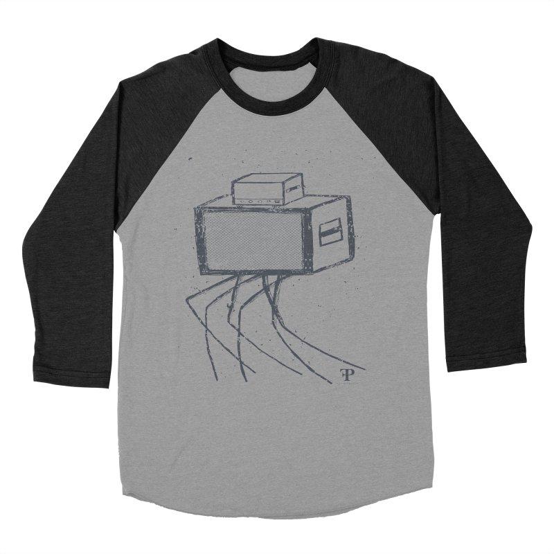 Amp Creature Women's Baseball Triblend T-Shirt by nshanemartin's Artist Shop