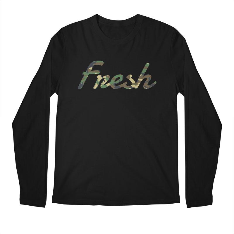 Fresh Men's Longsleeve T-Shirt by nshanemartin's Artist Shop