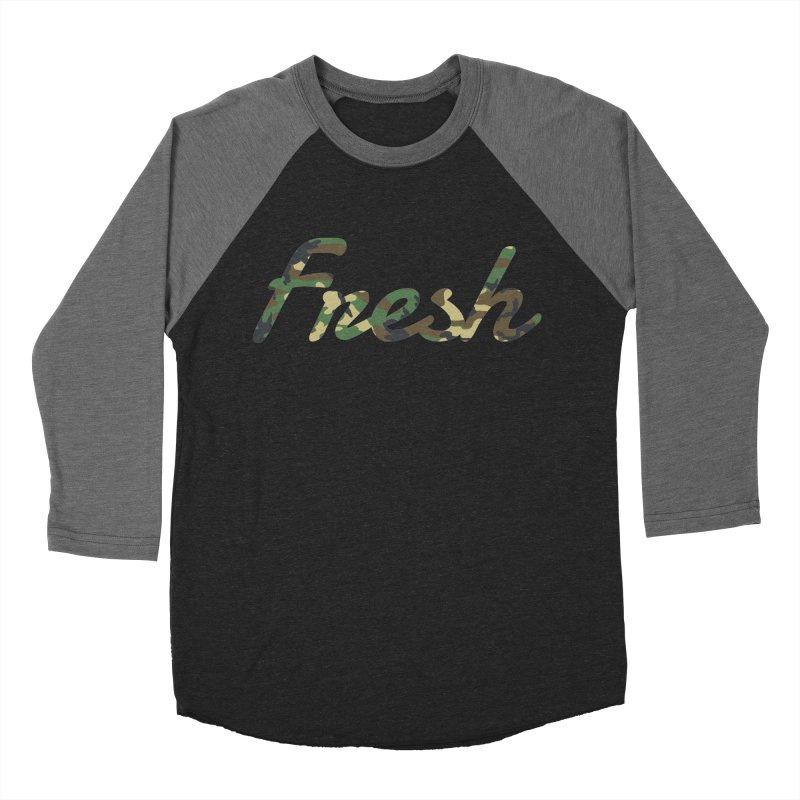 Fresh Men's Baseball Triblend Longsleeve T-Shirt by nshanemartin's Artist Shop