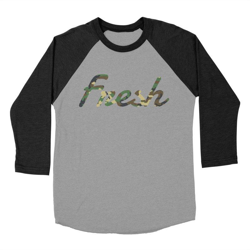 Fresh Men's Baseball Triblend T-Shirt by nshanemartin's Artist Shop