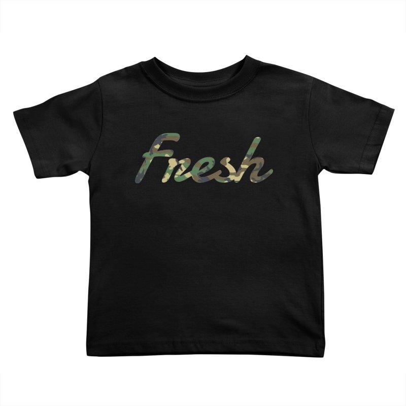 Fresh Kids Toddler T-Shirt by nshanemartin's Artist Shop
