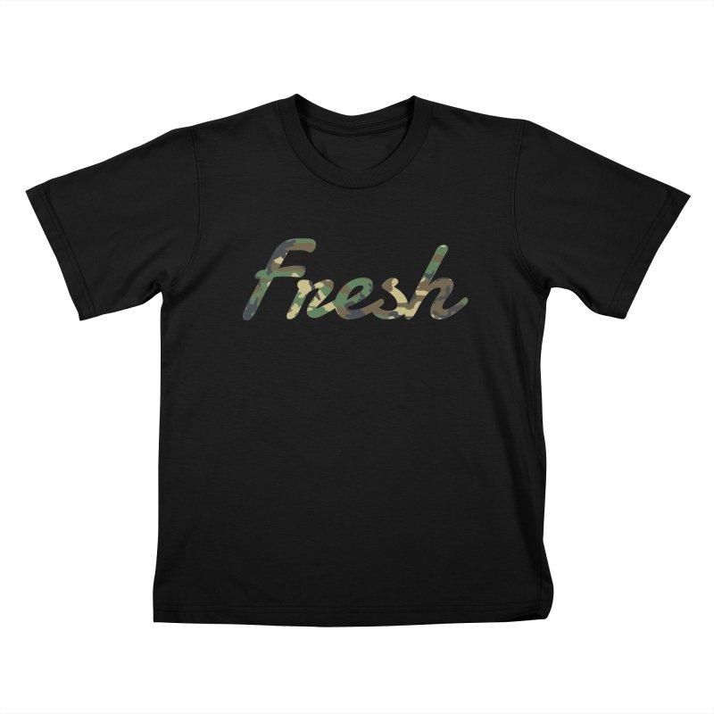 Fresh Kids T-shirt by nshanemartin's Artist Shop