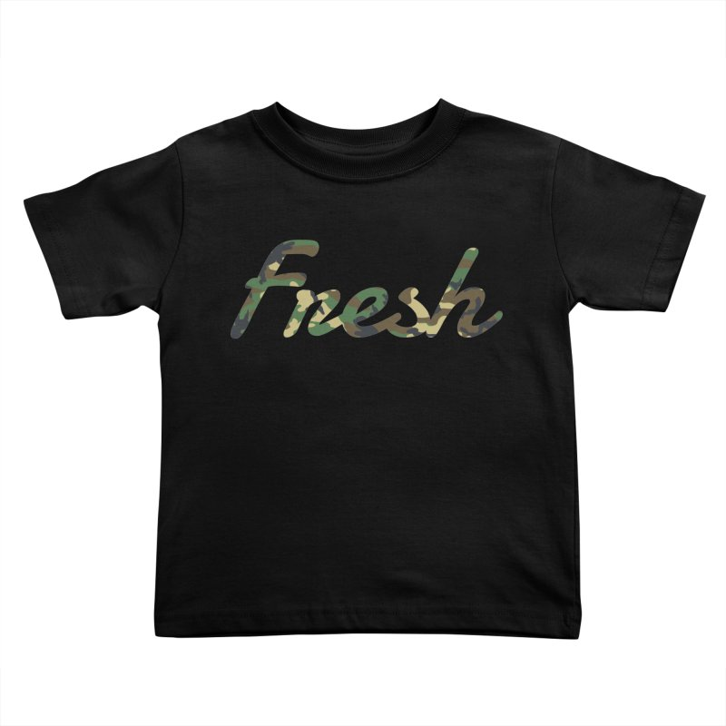 Fresh Kids Toddler T-Shirt by nshanemartin's Artist Shop