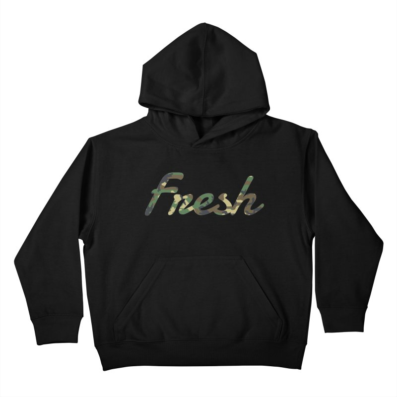 Fresh Kids Pullover Hoody by nshanemartin's Artist Shop