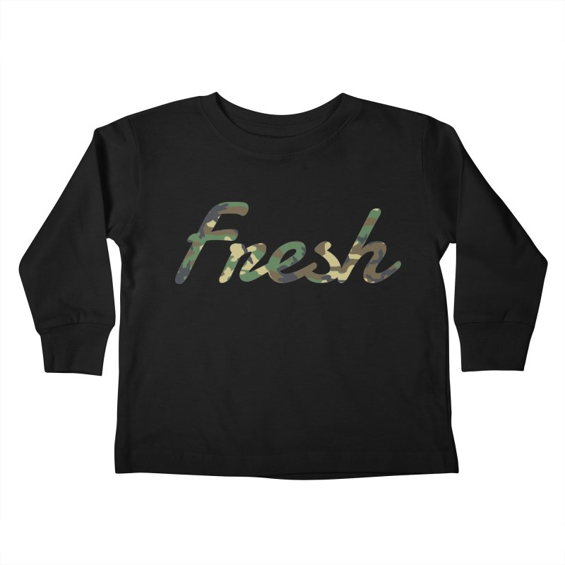 Fresh Kids Toddler Longsleeve T-Shirt by nshanemartin's Artist Shop