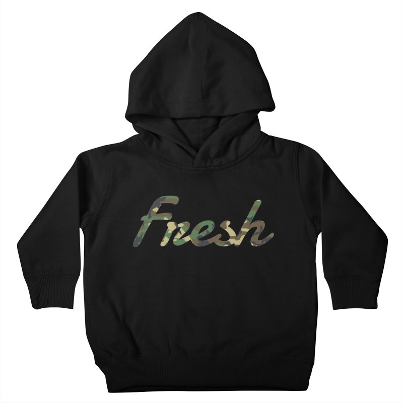 Fresh Kids Toddler Pullover Hoody by nshanemartin's Artist Shop