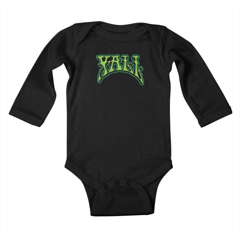 YALL Kids Baby Longsleeve Bodysuit by nshanemartin's Artist Shop