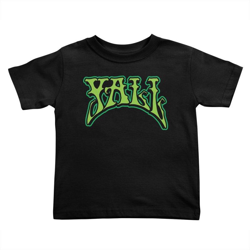 YALL Kids Toddler T-Shirt by nshanemartin's Artist Shop