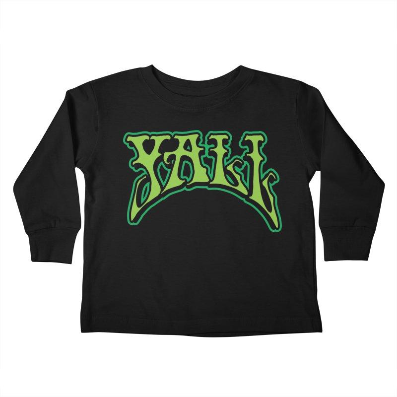 YALL Kids Toddler Longsleeve T-Shirt by nshanemartin's Artist Shop